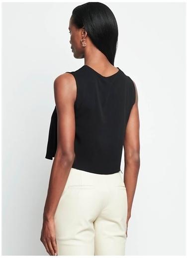Iamnotbasic IAMNOTBASIC Kadın Siyah Meghan Üst Siyah
